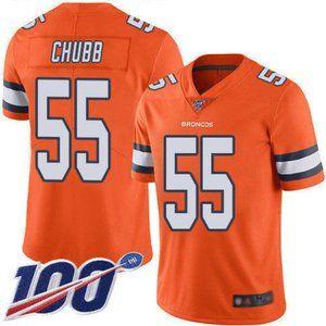 Denver Broncos Bradley Chubb 100th Season Jersey